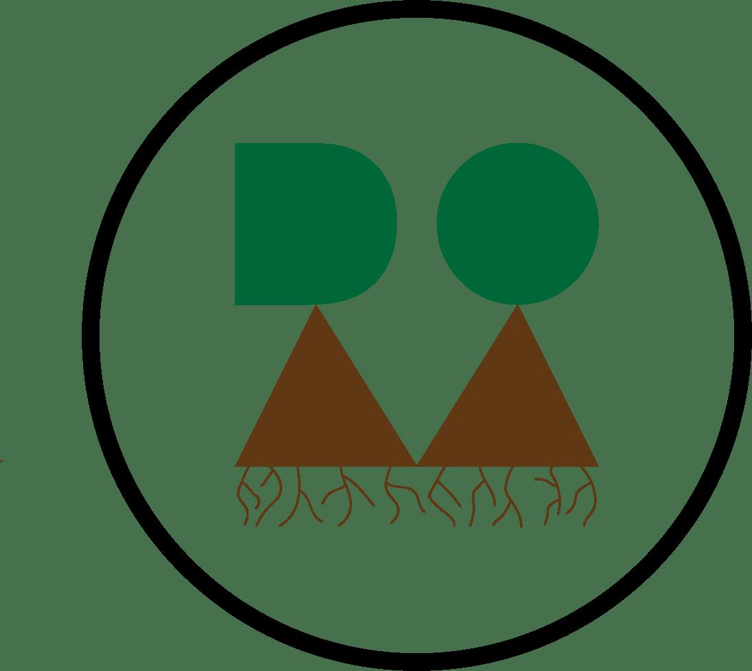dom logo circle