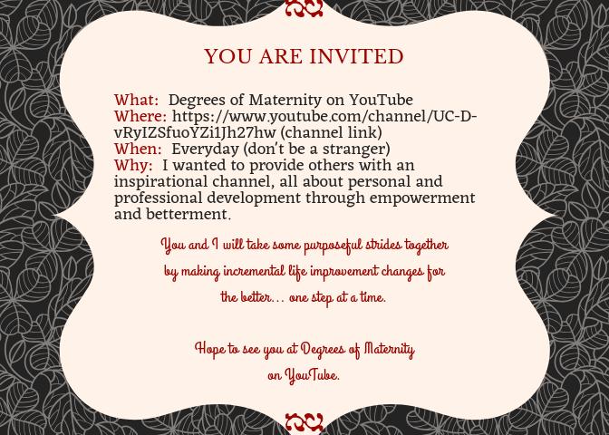 YouTube Invite