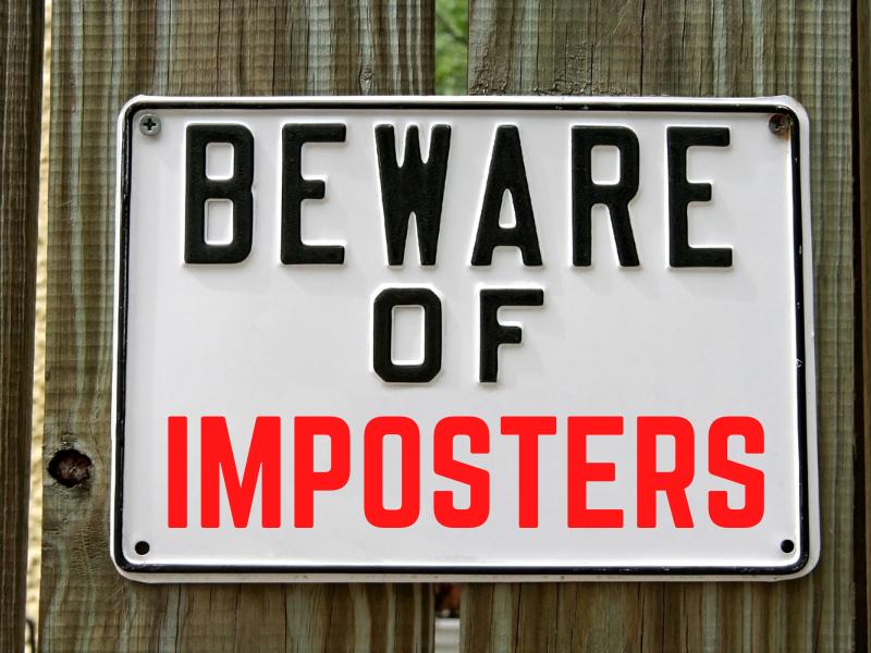Beware of Imposters